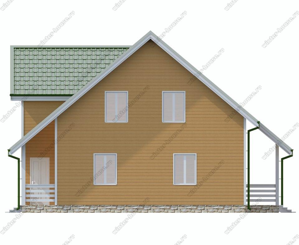 Планировка дома 10 на 10 двухэтажный фото