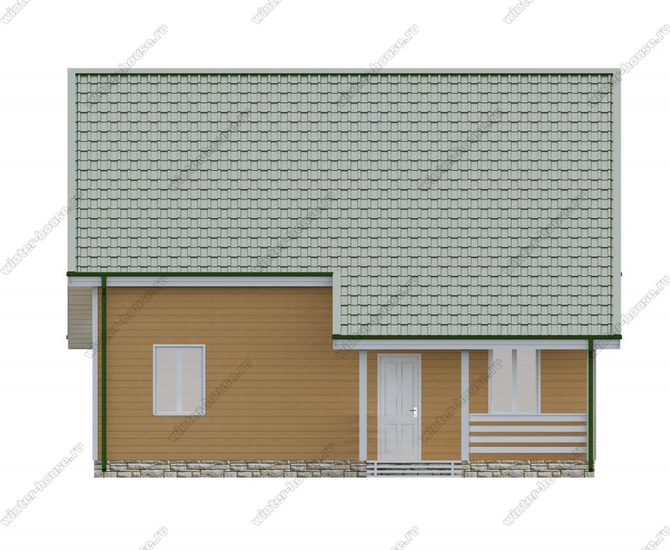 Дом 10 на 10 двухэтажный проект
