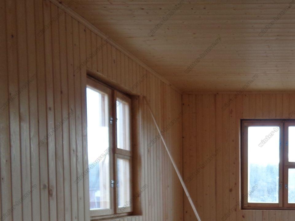 каркасный дом построенный в г Талдом фото