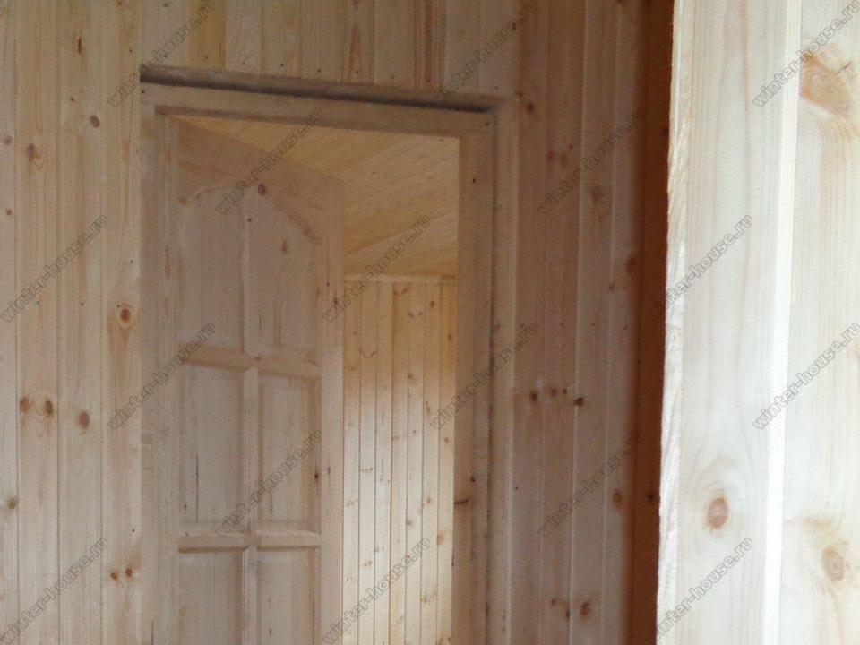 каркасный дом построенный в г Спас-Клепики фото