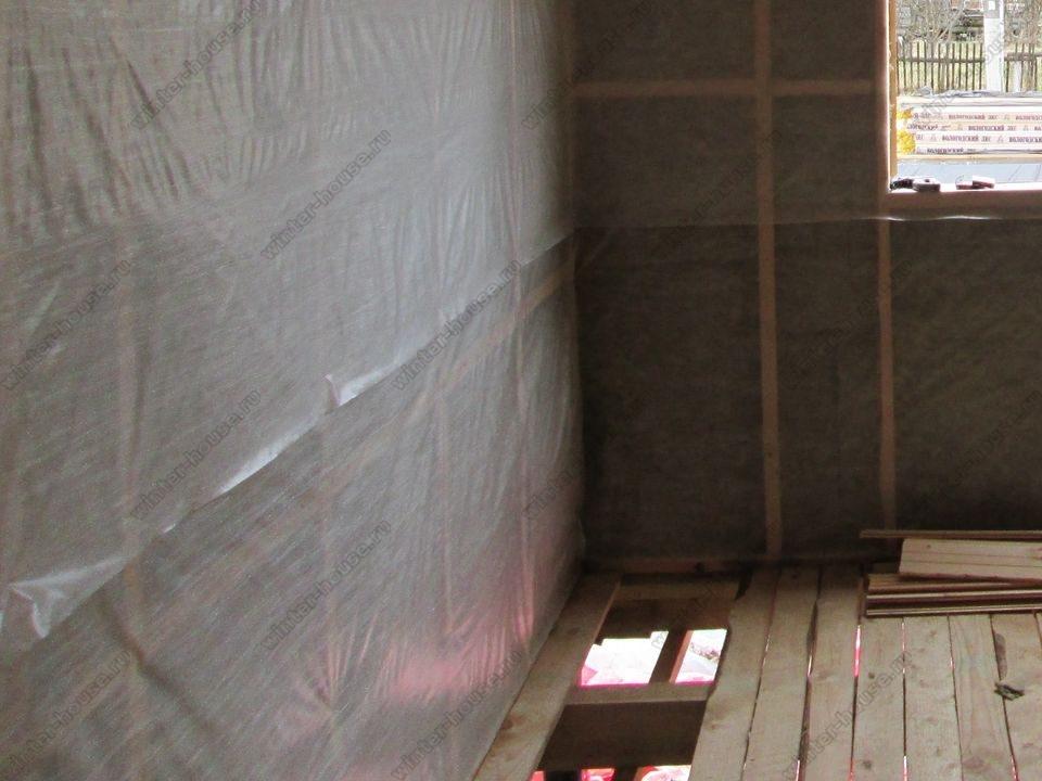 каркасный дом построенный в г Мещовск фото
