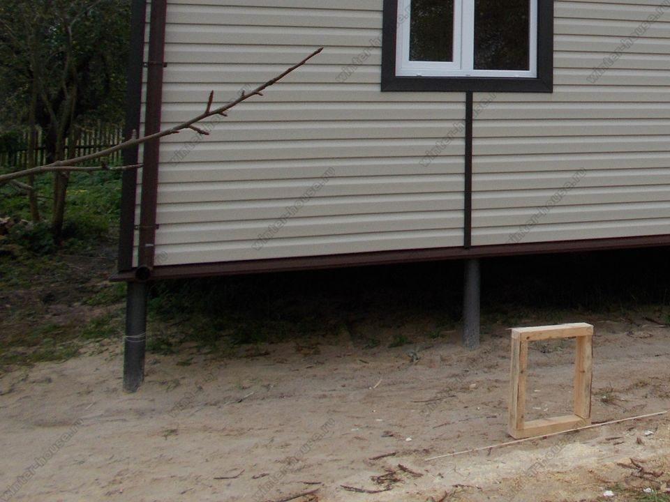 каркасный дом построенный в г Зарайск фото