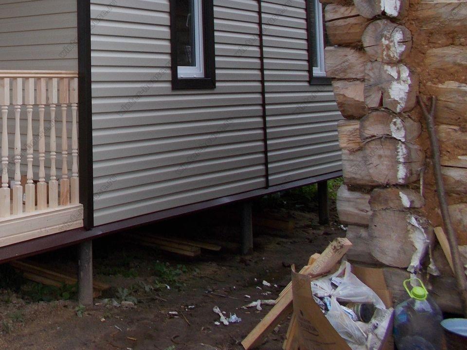 каркасный дом построенный в г Высоковск фото