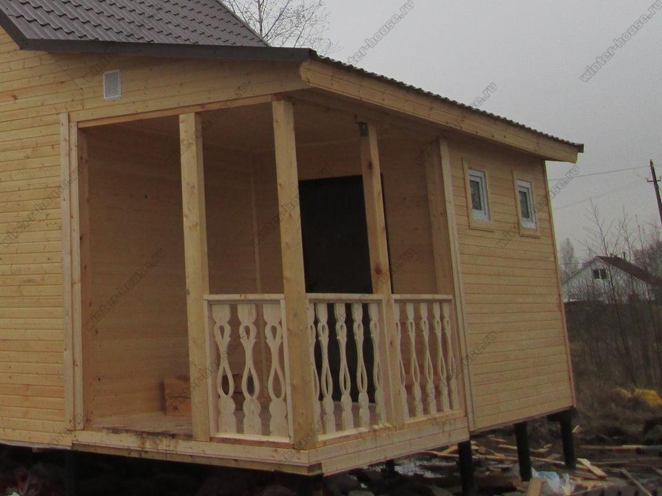каркасный дом построенный в г Вязники фото
