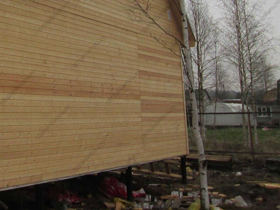 каркасный дом построенный в г Ярославль фото
