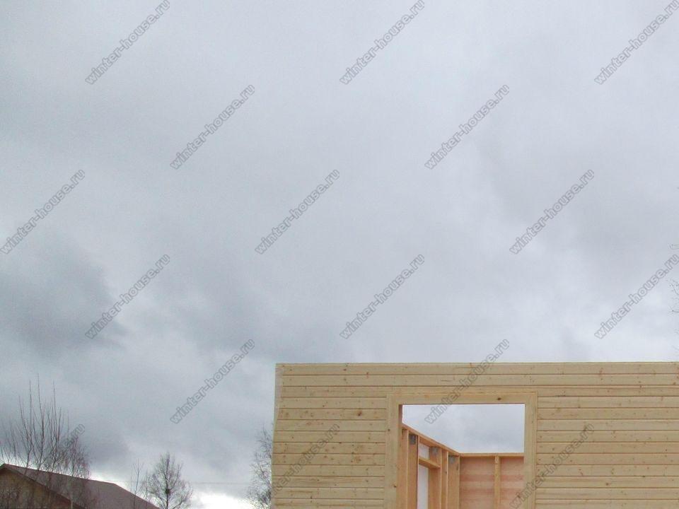 каркасный дом построенный в г Торжок фото