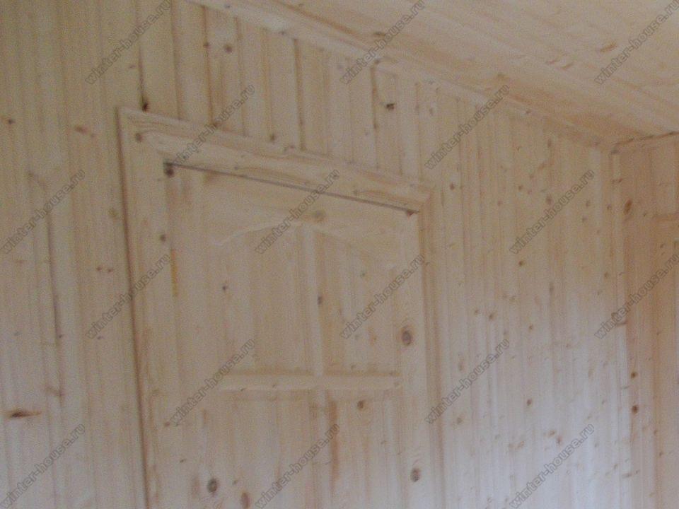 каркасный дом построенный в г Луховицы фото