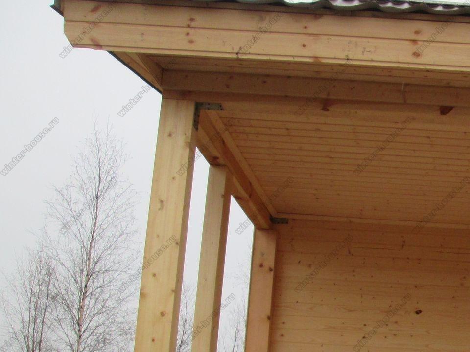 каркасный дом построенный в г Кувшиново фото