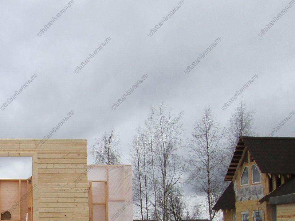 каркасный дом построенный в г Алексин фото