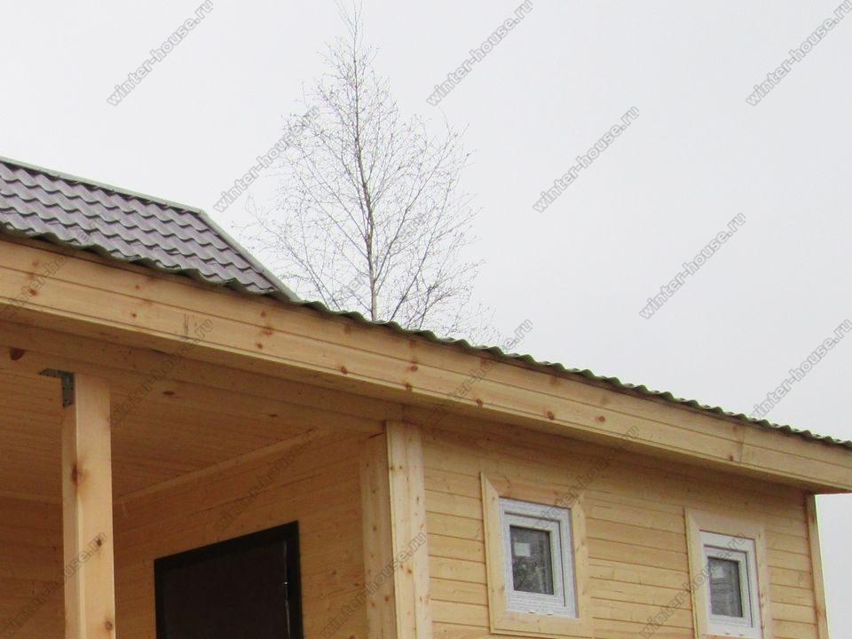 каркасный дом построенный в г Шацк фото