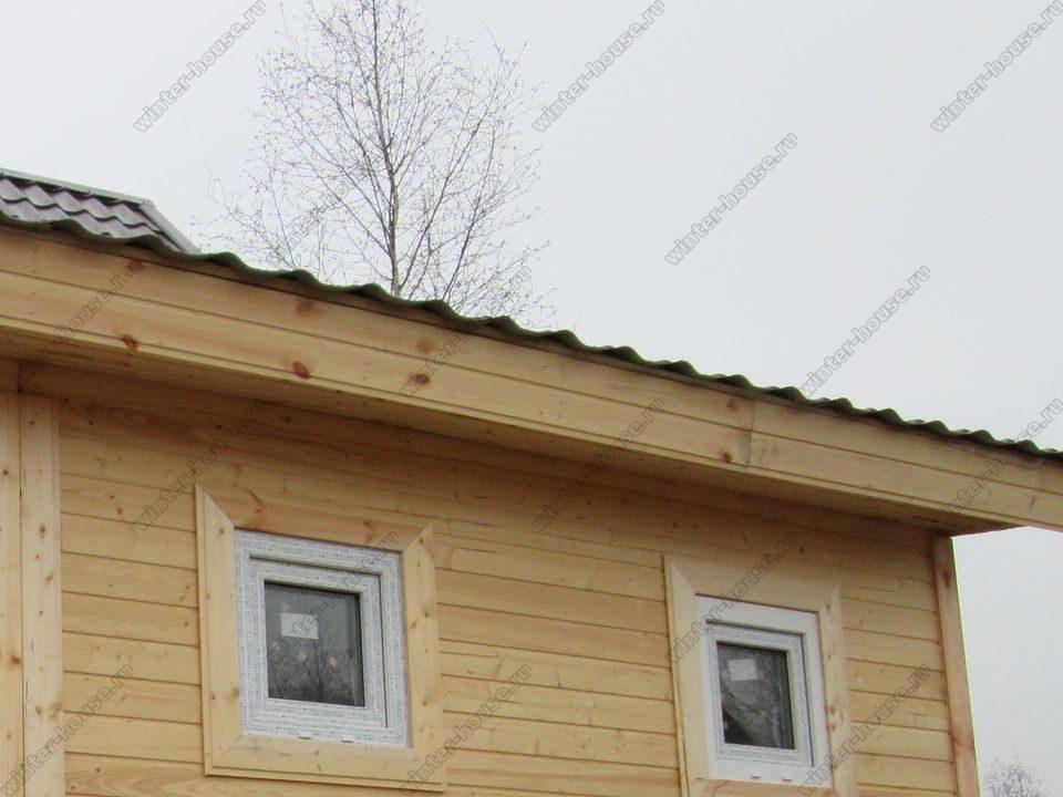 каркасный дом построенный в г Тула фото