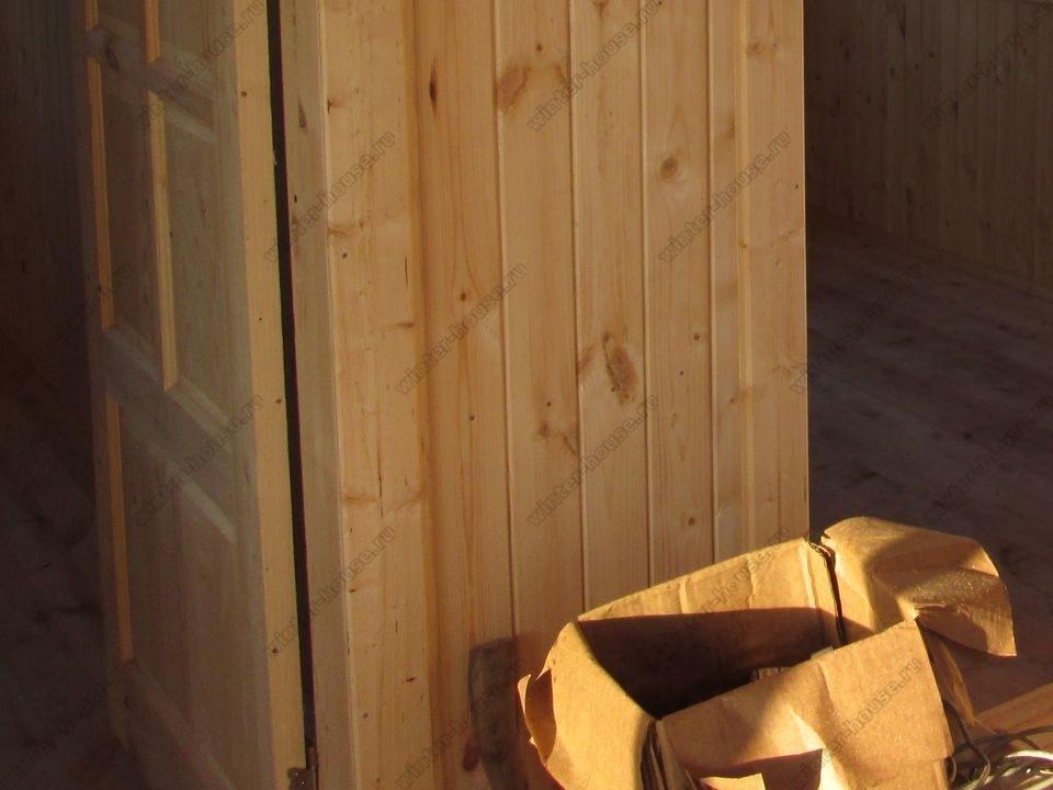 каркасный дом построенный в г Дубна фото