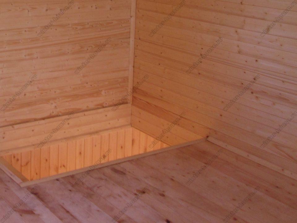 каркасный дом построенный в г Долгопрудный фото