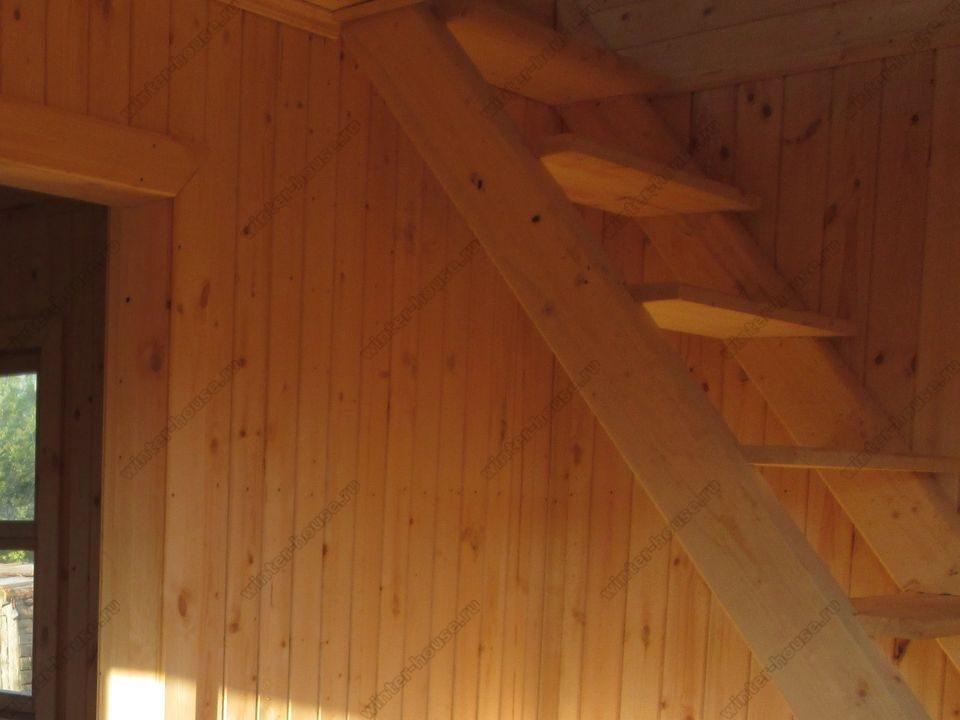 каркасный дом построенный в г Железнодорожный фото