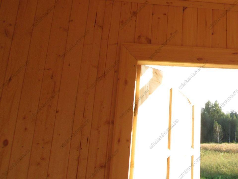 каркасный дом построенный в г Ступино фото