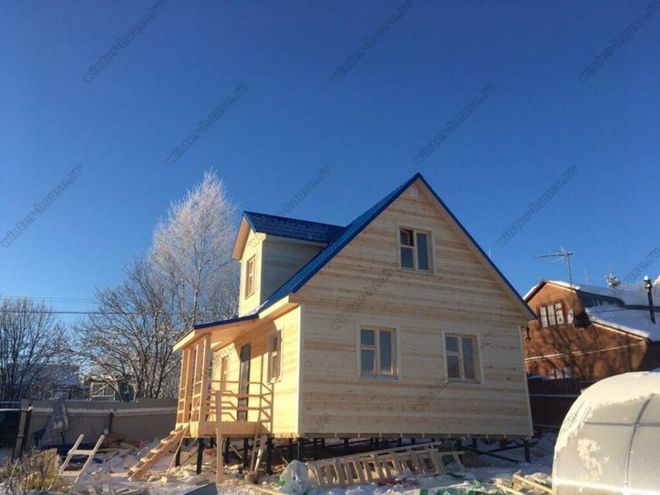 Дома из бруса в Раменском районе Московской области фото