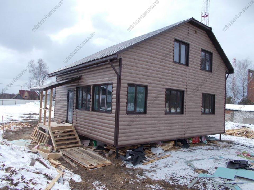 Проекты каркасных домов для круглогодичного проживания от 100 кв м