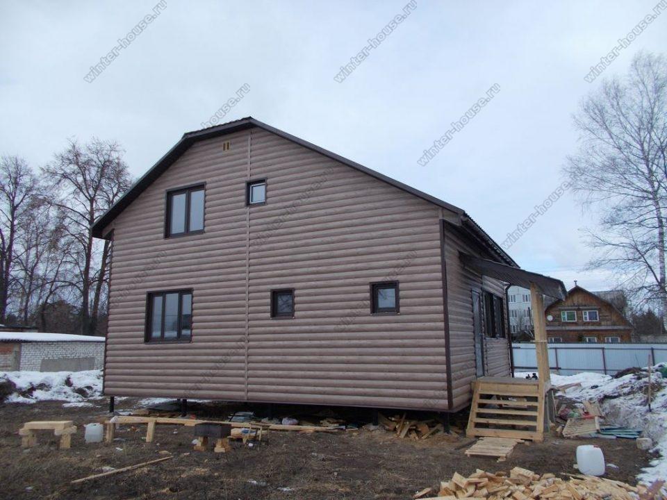 Проекты каркасных домов для постоянного проживания от 100 кв м