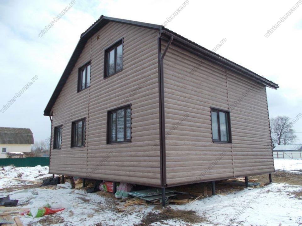 Проект дома от 100 кв м для проживания