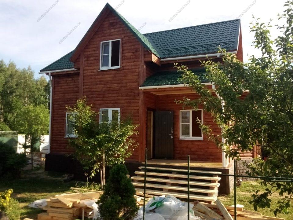 дома из профилированного бруса под ключ проекты и цены