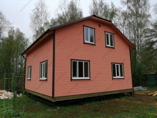 Построить каркасный дом под ключ недорого для постоянного проживания