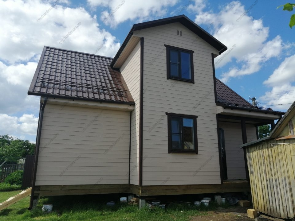 Строительство каркасных домов в Ленинградской области