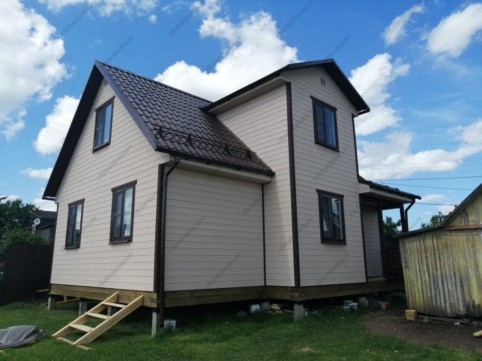 Строительство каркасных домов в СПб и Ленинградской области