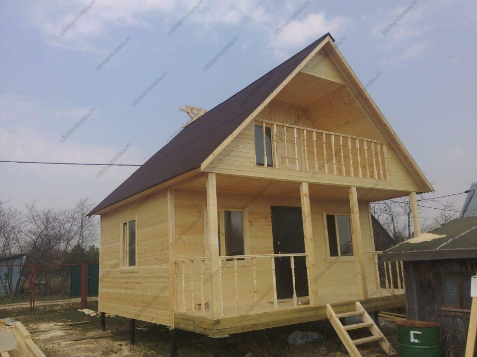 Каркасные дома проекты фото и цены 6 на 6