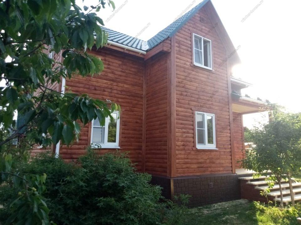 Фото деревянного дома 8 на 10