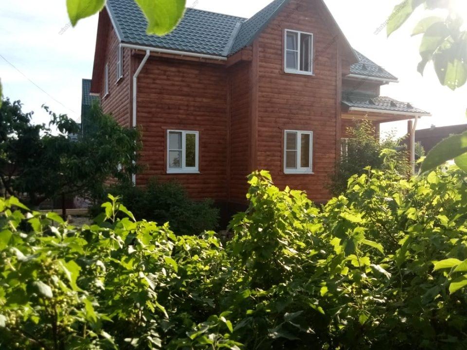 Фото двухэтажного дома 8 на 10