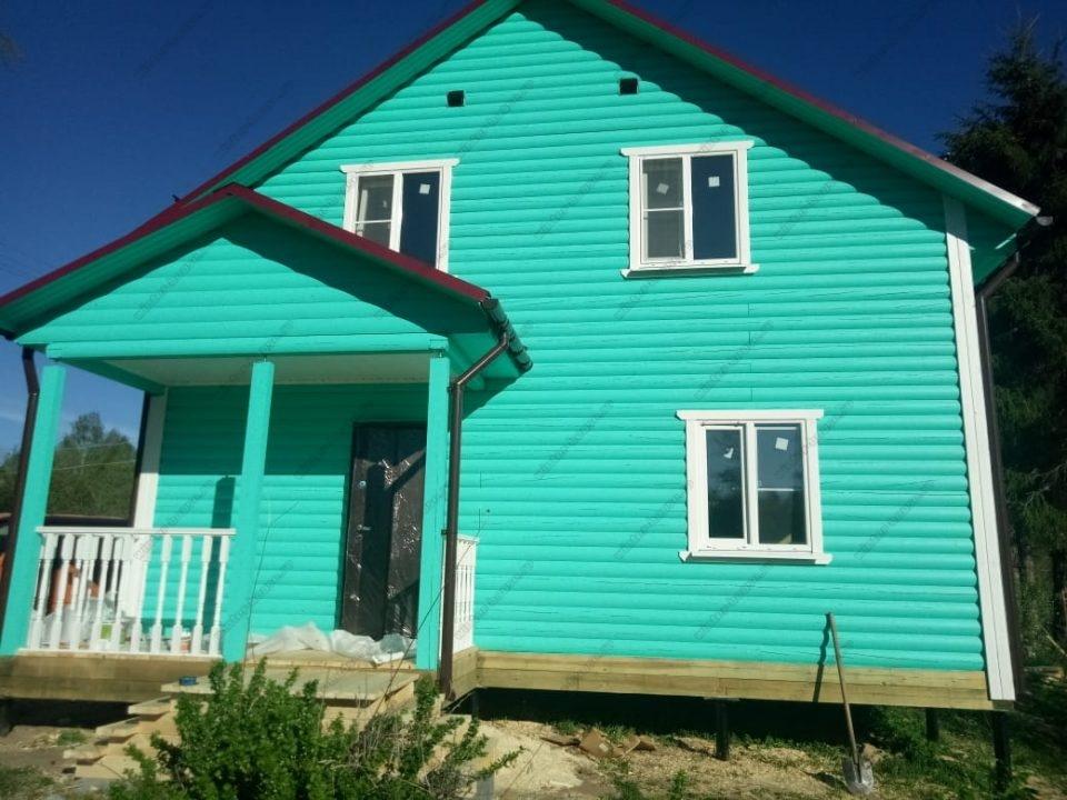 Каркасные дома в Санкт-Петербурге и Ленинградской области под ключ