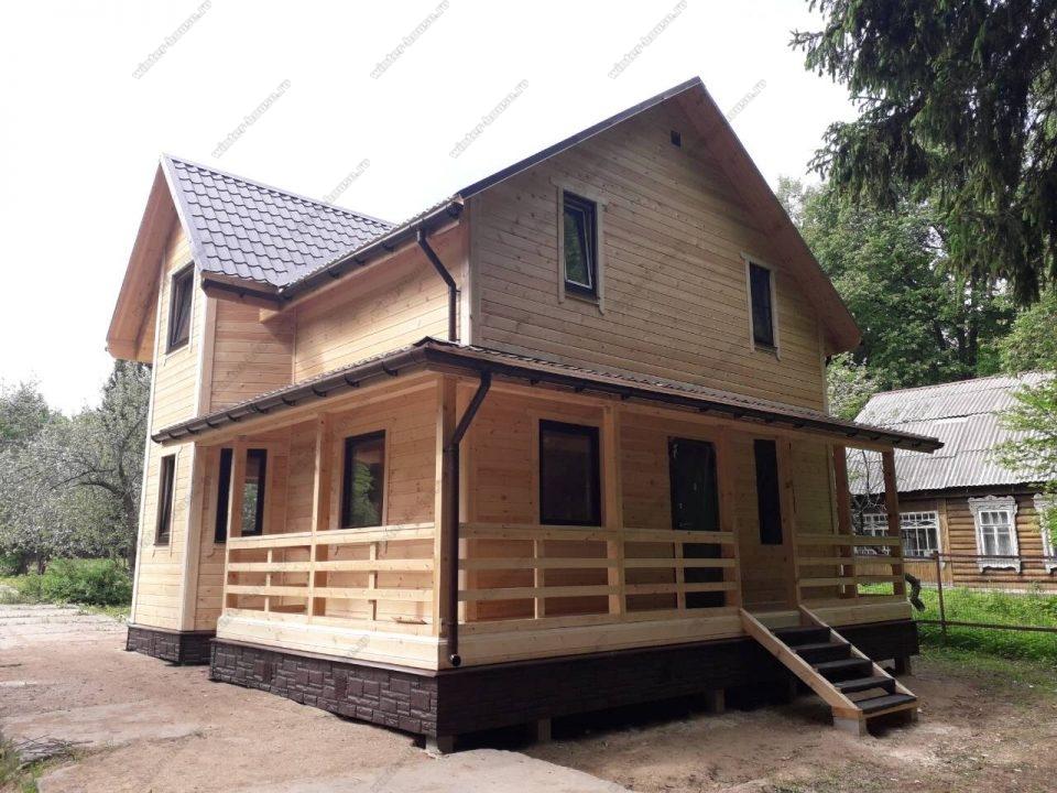 Строительство каркасных коттеджей для проживания зимой