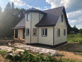 Каркасные дома под ключ в СПб недорого из Новгородской области