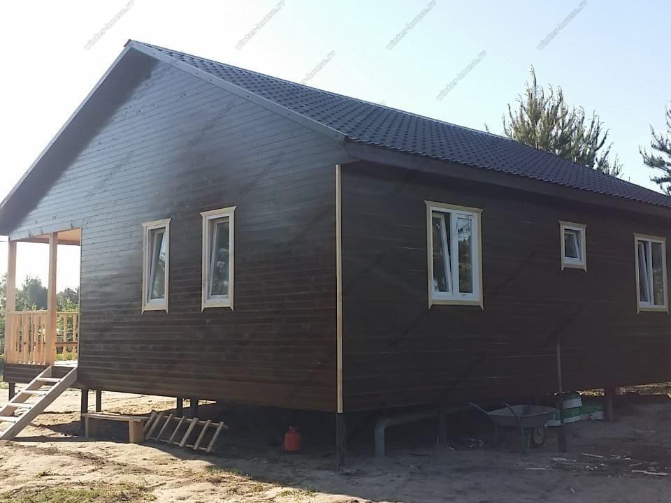 Строительство каркасных домов в один этаж