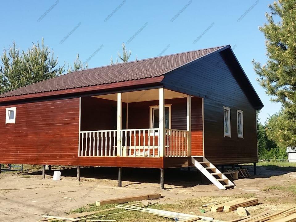 Проекты одноэтажных каркасных домов до 100 кв м