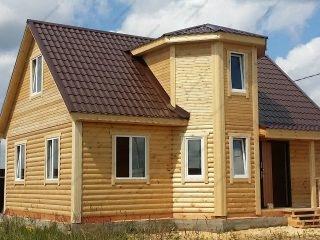 Дом из бруса под ключ недорого для постоянного проживания цена