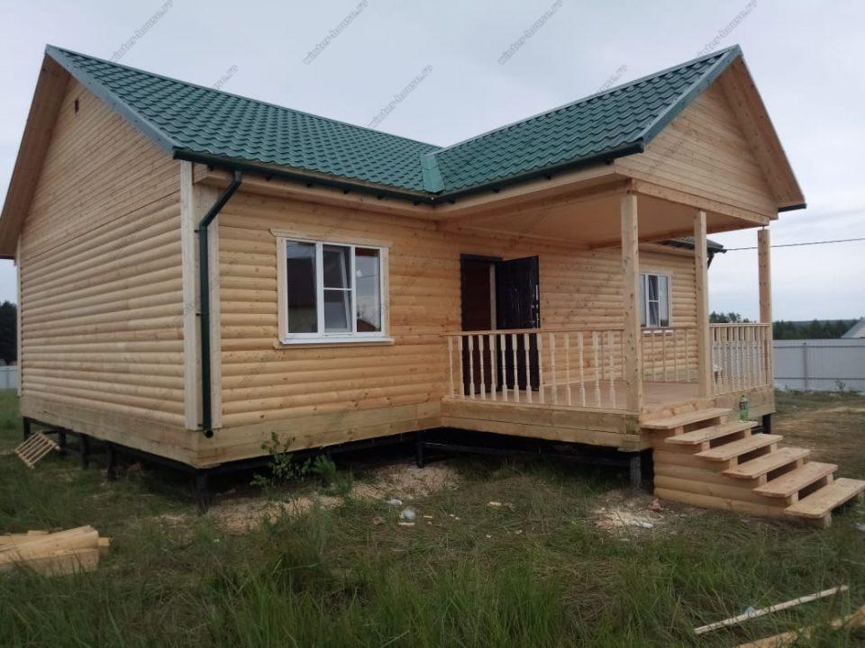 Зимний дом из бруса для круглогодичного проживания под ключ