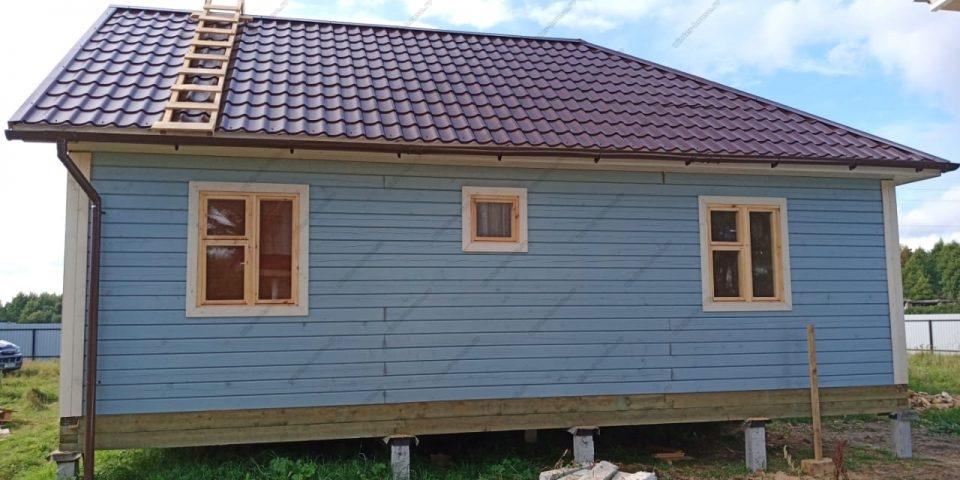 Проект дома для круглогодичного проживания