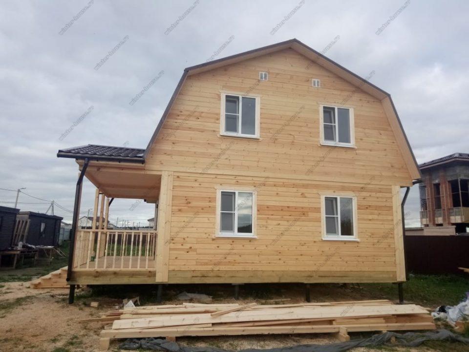 Проект дома из бруса 200х200