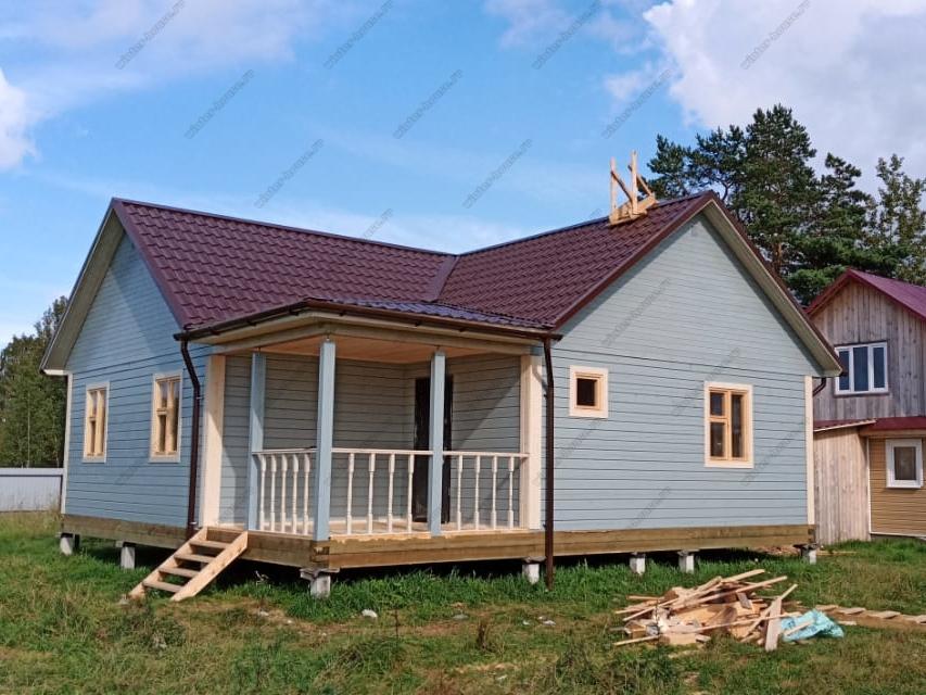 Дома из бруса в Твери для постоянного проживания