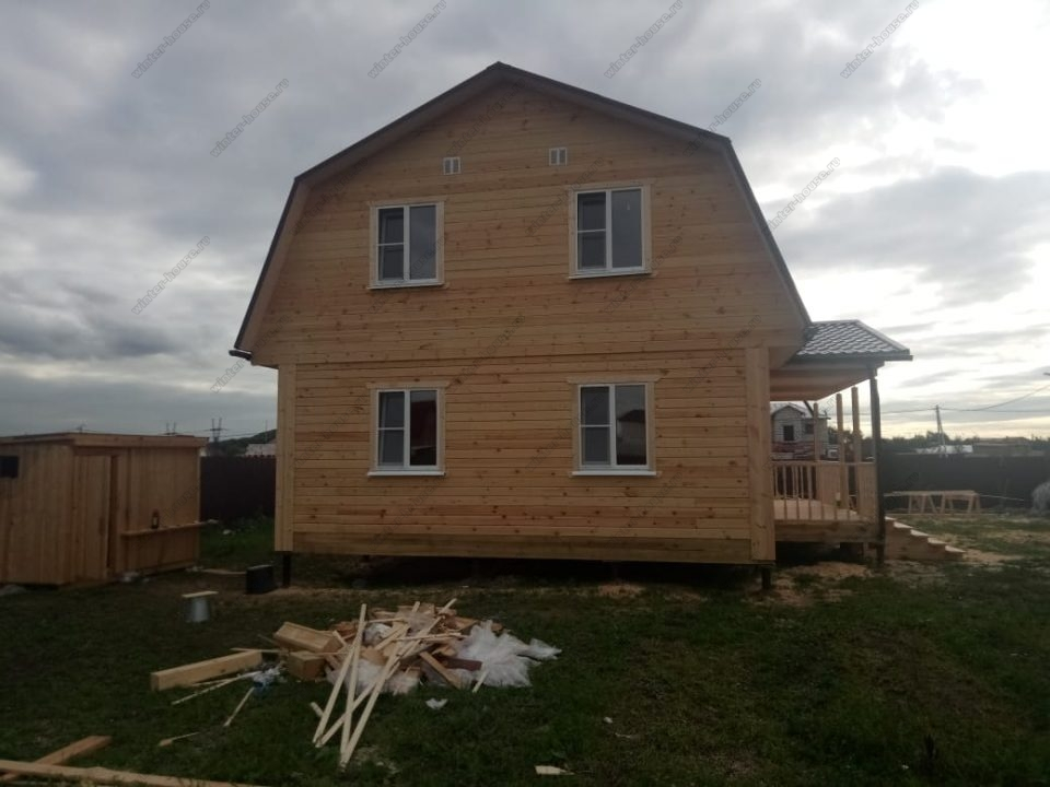 Дом из профилированного бруса 200х200