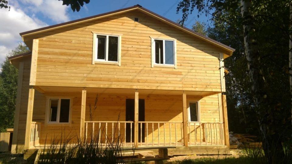 Проект зимнего дома для постоянного проживания