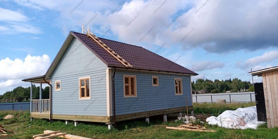 Дома из бруса для зимнего проживания