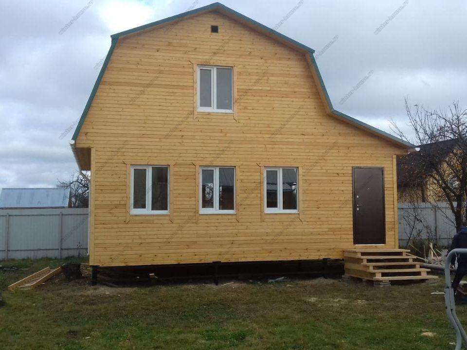 Строительство каркасных загородных домов в СПб и Лен обл