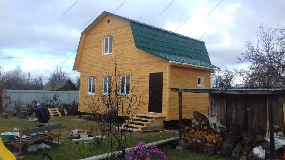 Фото каркасного дома для постоянного проживания Ленинградская область