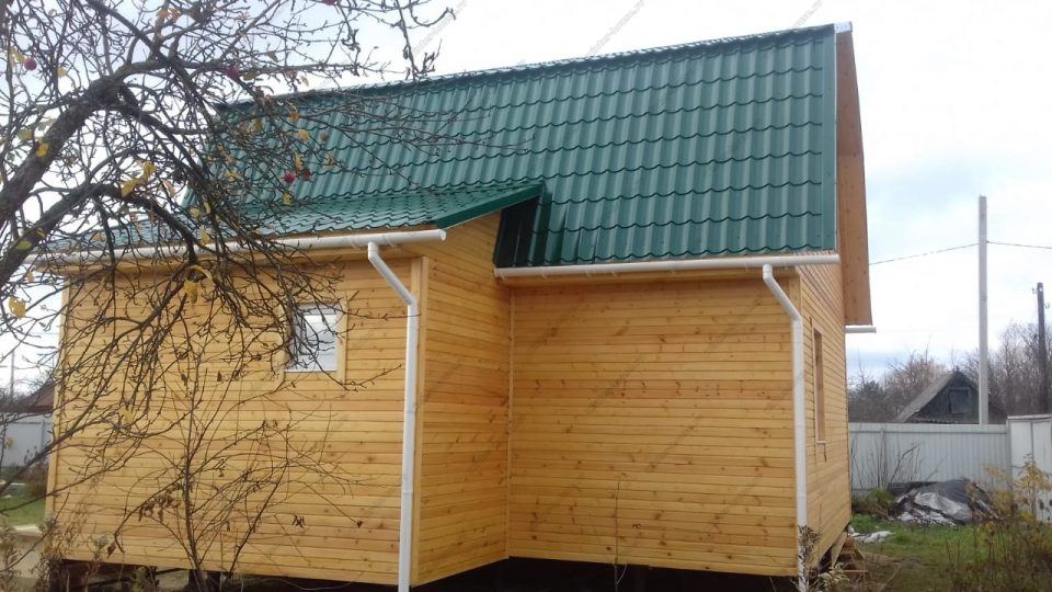 Фото построенного дома под ключ в Санкт-Петербурге