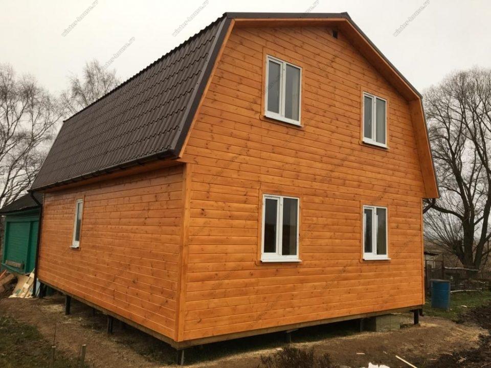 Проекты и цены на каркасные дома под ключ в Ярославле