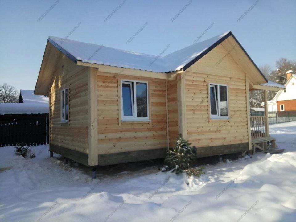 Дома из бруса в Новомосковске под ключ цена