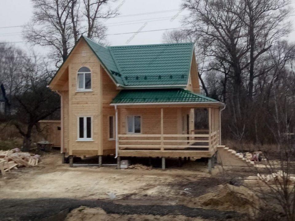 Проект дома из бруса 200х200 для постоянного проживания