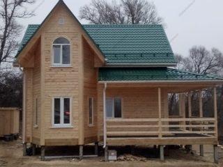 Дома из профилированного бруса 200x200 проекты и цены